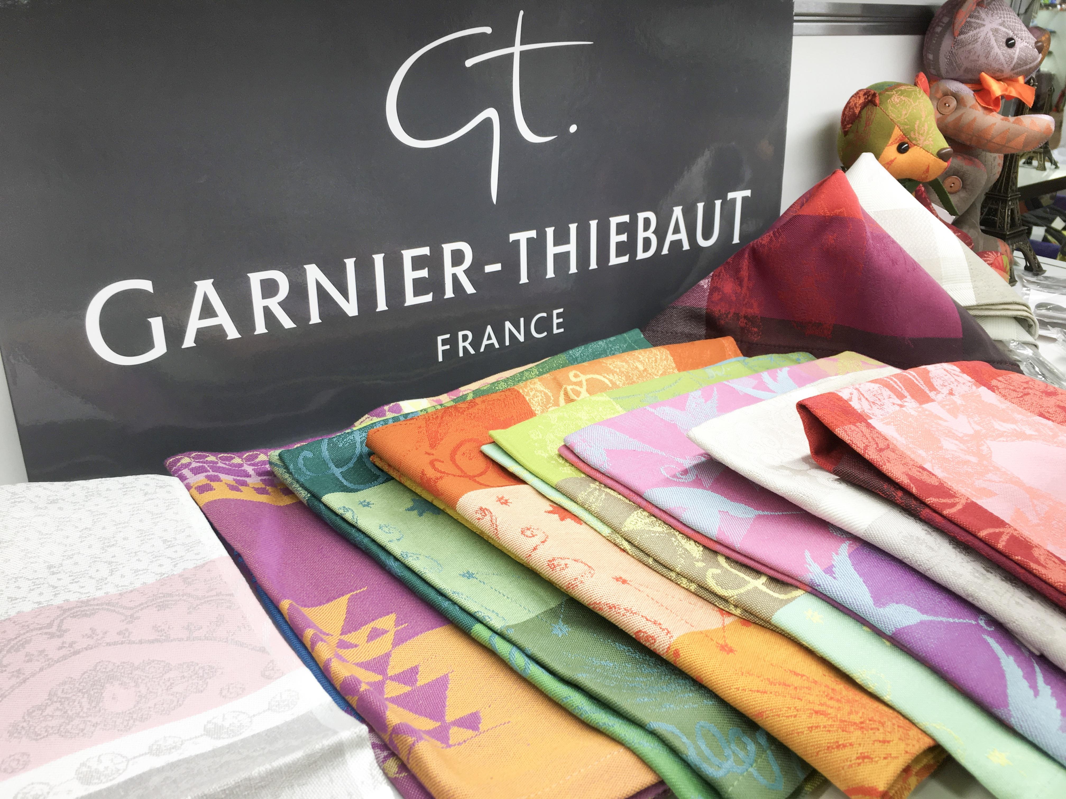 ガルニエ・ティエボー(Garnier Thiebaut)201610日本橋三越フランス展ナプキン