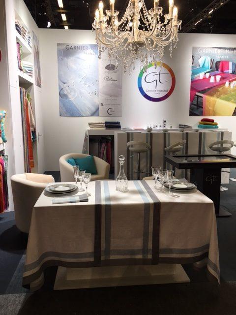 ガルニエ・ティエボー(Garnier Thiebaut)2017メゾンエオブジェ展示テーブルセッティング-1