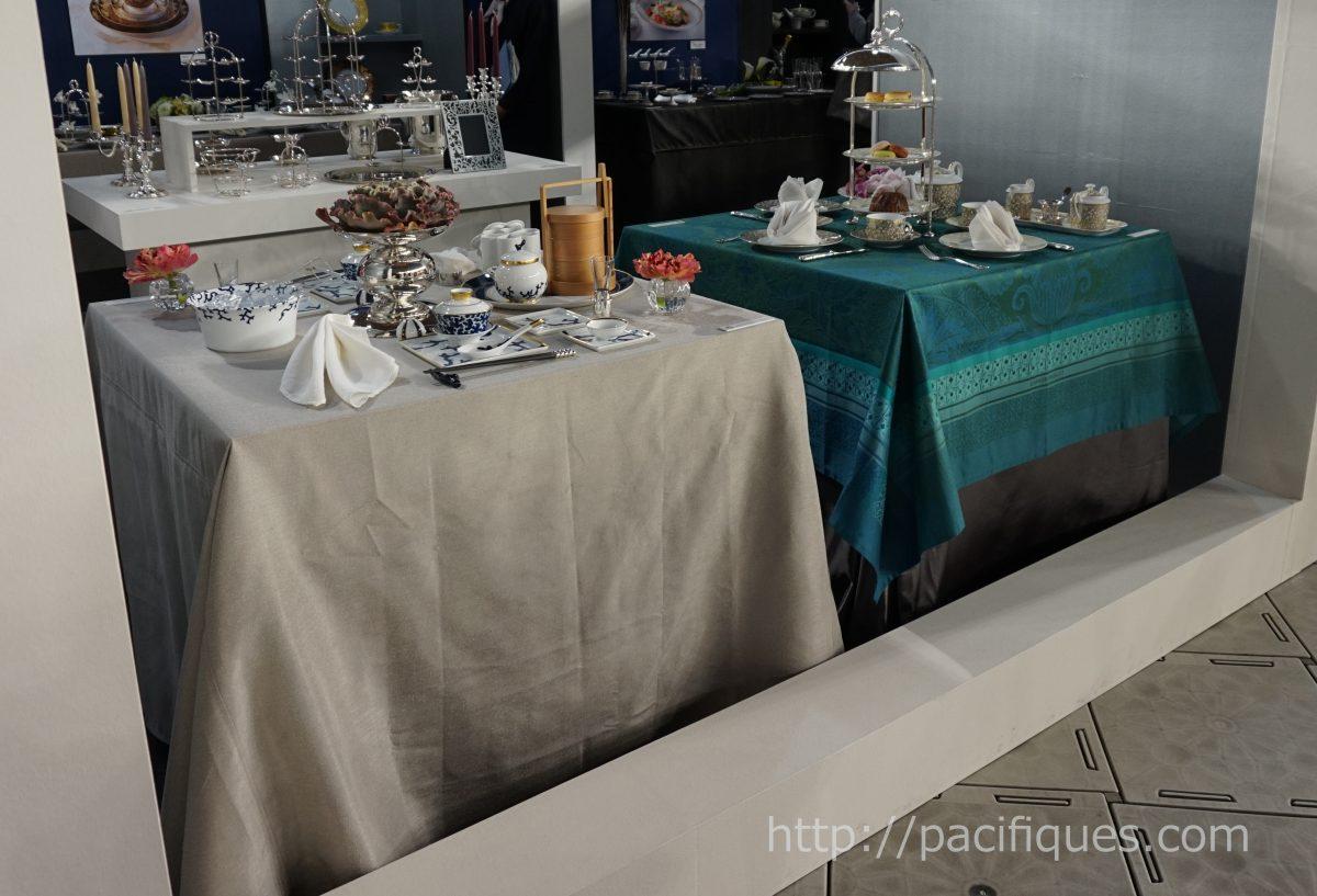 ガルニエ・ティエボー(Garnie Thiebaut)使用テーブルウェアフェスティバル2018レイノーブース1