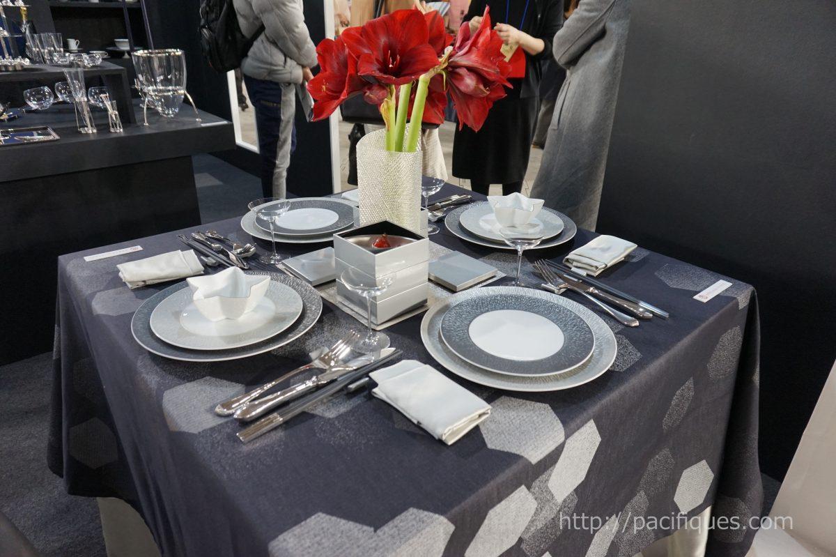 ガルニエ・ティエボー(Garnie Thiebaut)使用テーブルウェアフェスティバル2018レイノーブース2