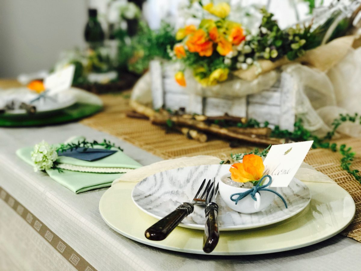 GarnierThiebaut(ガルニエ・ティエボー)使用食空間プロジェクトテーブルコーディネート講座