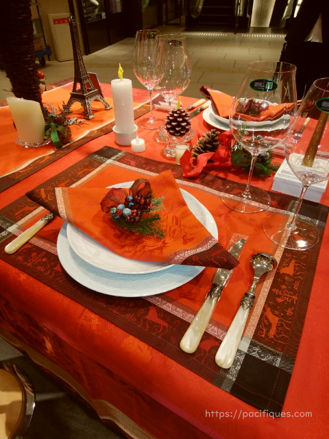 ガルニエ・ティエボー(GarnierThiebaut)阪急うめだ本店クリスマスキャロル1