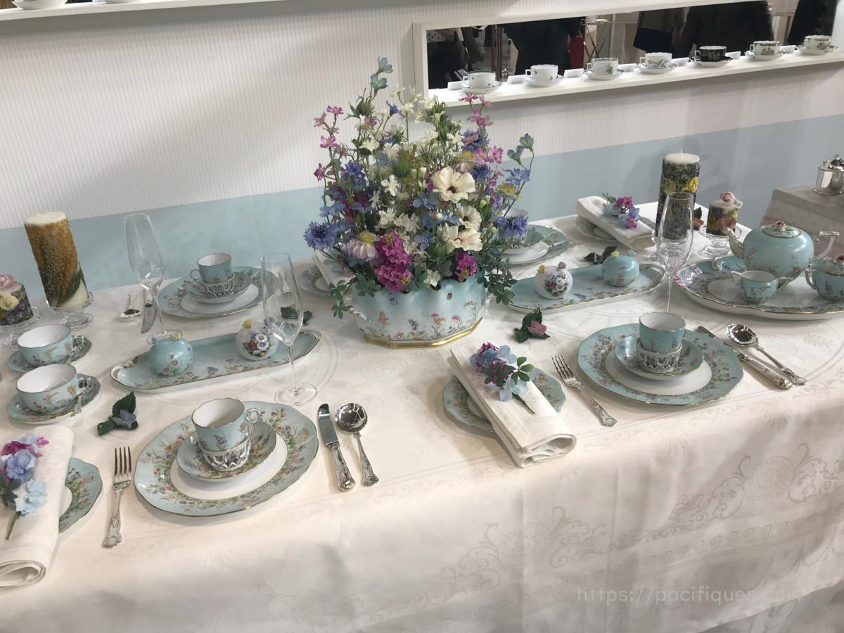 ガルニエ・ティエボー(Garnier Thiebaut)テーブルウェア・フェスティバル2019ヘレンド エロイーズ